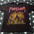 Manowar - TShirt or Longsleeve - Manowar the triumph of steel