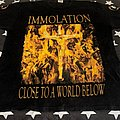 Immolation close to a world below darkness over Europe tour 2001 TShirt or Longsleeve
