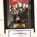 Brave New World Signed Photo Frame Other Collectable