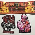 Arise, Scream Bloody Gore & Leprosy Woven Patches