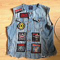 Thrash Metal battle jacket UNFINISHED