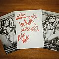 Grim Reaper - Other Collectable - Grim Reaper: autographs