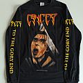 "Cancer - TShirt or Longsleeve - Longsleeve Cancer ""To the gory end"""