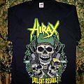 """T-shirt Hirax """"Violent Assault"""""""