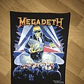 Megadeth - Vic Rattlehead/Berlin Wall Backpatch