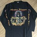 Grave Digger - TShirt or Longsleeve - Grave Digger - Knights Of The Cross Longsleeve