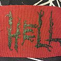 Hell logo patch