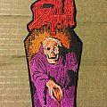 Death - Patch - Death-Scream Bloody Gore Coffin patch