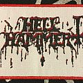 Hellhammer - Patch - Hellhammerlogo patch