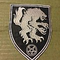 Satanic Warmaster Sheild Patch