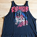 Kreator - Extreme Aggression Tour 1989 - Rough Cut Sleeveless L  TShirt or Longsleeve