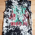 Slayer - Root of all Evil - World Sacrifice Tour 1988 - Batik Sleeveless TS - RARE, one of a kind! L/XL