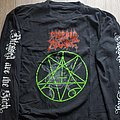 SOLD - Morbid Angel - European Sickness Tour Part 2 LS XL TShirt or Longsleeve