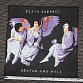 Black Sabbath - Patch - Heaven & Hell Backpatch