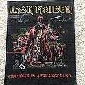 Iron Maiden - Patch - Stranger in a Strange Land back patch
