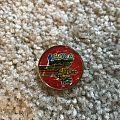 Screaming for Vengenace prism badge Pin / Badge