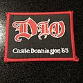 Dio - Patch - Castle Donnington '83