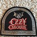 Ozzy Osbourne - Patch - Tombstone/ Bat logo