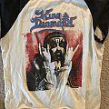 King Diamond 1986 North American Tour TShirt or Longsleeve