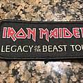 Legacy of the Beast tour patch