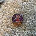Number of the Beast Devil Prism Pin / Badge