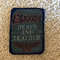 Denim and Leather patch