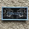 Thin Lizzy - Patch - Black Rose mini strip