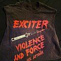 Exciter - TShirt or Longsleeve - US Attack/Violence & Force