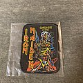 Iron Maiden - Patch - Somewhere in Time printed
