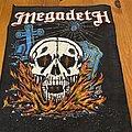 Megadeth - Patch - Skull Back Patch