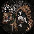 King Diamond - Patch - Dark Sides circle