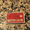 Thin Lizzy - Pin / Badge - Renegade tour badge