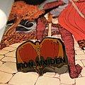 Iron Maiden - Pin / Badge - Fear of the Dark-era Bat Eddie pin