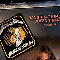 Metallica - Patch - Metal Up Your Ass rubber patch