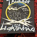 Thin Lizzy - Patch - Thunder and Lightning Back Patch