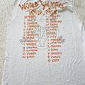Slayer - TShirt or Longsleeve - Slayer World Sacrafice
