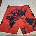 Slayer world painted blood shorts Other Collectable