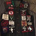 My work in progress battle jacket