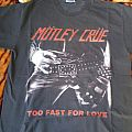 Mötley Crüe Too Fast For Love Shirt