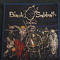 black sabbath live evil vintage patch