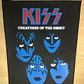 kiss creatures of the night backpatch