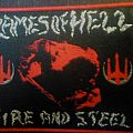 """flames of hell """"fire and steel"""" patch"""