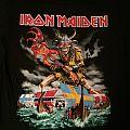 Iron Maiden - Scandinavia 2011 event shirt