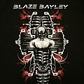 Blaze Bayley - Soundtracks Of My Life 2014 Canadian tour shirt
