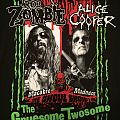 Alice Cooper & Rob Zombie - Gruesome Twosome 2010 tour shirt