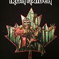Iron Maiden - TShirt or Longsleeve - Iron Maiden - Canada 2016 event shirt