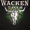 Wacken Open Air 2016 festival shirt