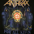 Anthrax - For All Kings 2016 tour shirt
