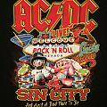 AC/DC - Las Vegas 2016 event shirt