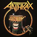 Anthrax - Earth Is On Hell 2012 tour shirt